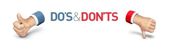 Do's and Don't During the Mortgage Process